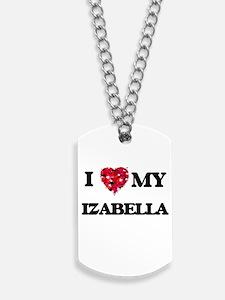 I love my Izabella Dog Tags