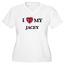 I love my Jacey Plus Size T-Shirt