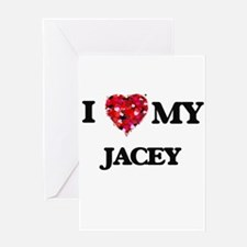 I love my Jacey Greeting Cards