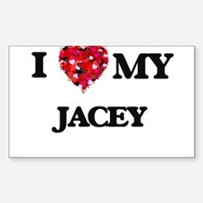 I love my Jacey Decal