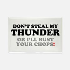 DON'T STEAL MY THUNDER OR I'LL BUST YOUR C Magnets