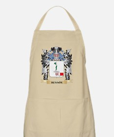 Husson Coat of Arms - Family Crest Apron