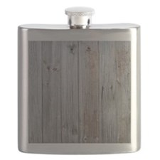old wood Flask