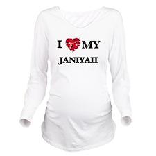 I love my Janiyah Long Sleeve Maternity T-Shirt