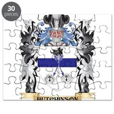 Hutchinson Coat of Arms - Family Crest Puzzle