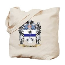 Hutchinson Coat of Arms - Family Crest Tote Bag