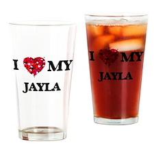 I love my Jayla Drinking Glass