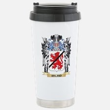Hyland Coat of Arms - F Stainless Steel Travel Mug