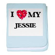 I love my Jessie baby blanket