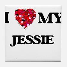I love my Jessie Tile Coaster