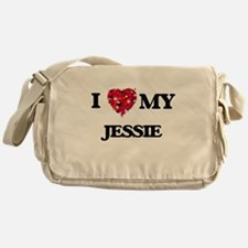I love my Jessie Messenger Bag