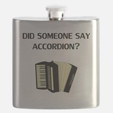 Did Someone Say Accordion? Flask