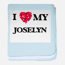 I love my Joselyn baby blanket