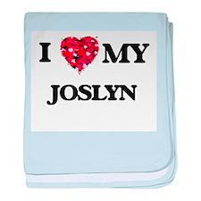 I love my Joslyn baby blanket
