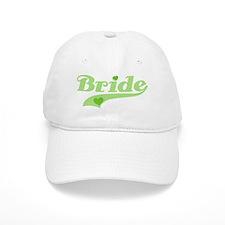 Baseball Bride Green Cap