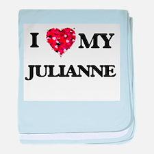 I love my Julianne baby blanket