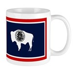 Wyoming State Flag on RH Mug