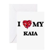 I love my Kaia Greeting Cards