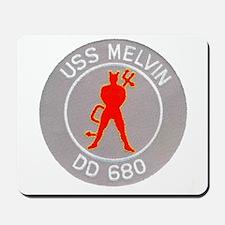 USS MELVIN Mousepad