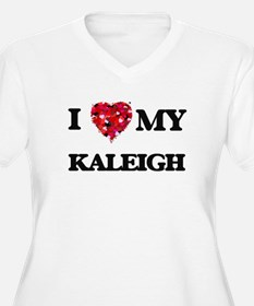 I love my Kaleigh Plus Size T-Shirt