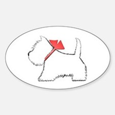 Cute Westie Dog Art Decal