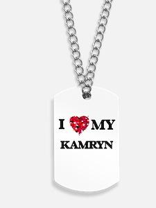 I love my Kamryn Dog Tags