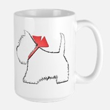 Cute Westie Dog Art Mugs