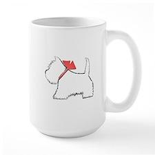 Cute Westie Dog Art Mugs