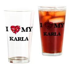 I love my Karla Drinking Glass