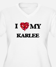 I love my Karlee Plus Size T-Shirt