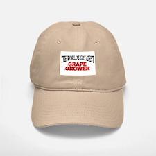 """The World's Greatest Grape Grower"" Baseball Baseball Cap"
