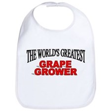 """The World's Greatest Grape Grower"" Bib"
