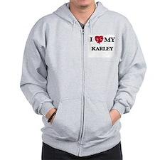 I love my Karley Zipped Hoody