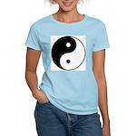 Yin/Yang Women's Pink T-Shirt