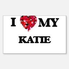 I love my Katie Decal