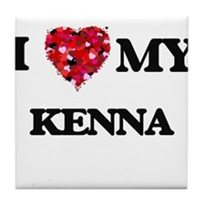 I love my Kenna Tile Coaster