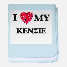 I love my Kenzie baby blanket