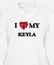 I love my Keyla Plus Size T-Shirt