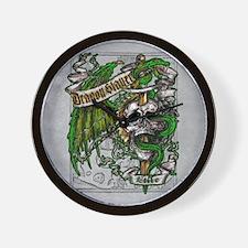 Dragon Slayer Crest Wall Clock