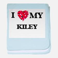 I love my Kiley baby blanket
