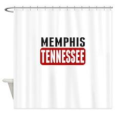 Memphis Tennessee Shower Curtain