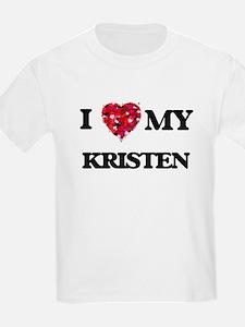 I love my Kristen T-Shirt