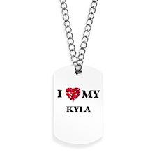I love my Kyla Dog Tags
