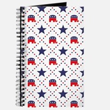 Republican Diamond Pattern Journal