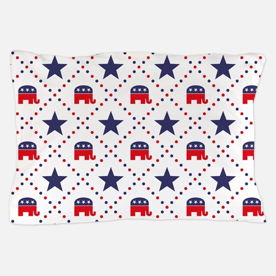 Republican Diamond Pattern Pillow Case
