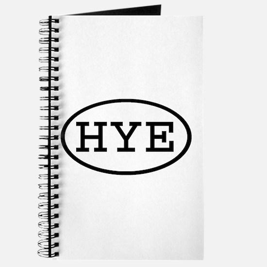HYE Oval Journal