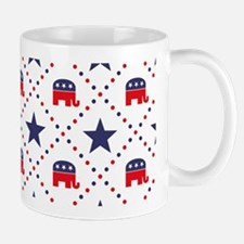 Republican Diamond Pattern Mug