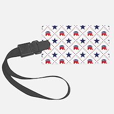 Republican Diamond Pattern Luggage Tag