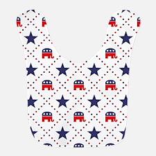 Republican Diamond Pattern Bib