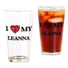 I love my Leanna Drinking Glass
